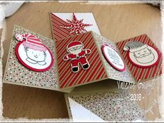Pivot twist pop up card stampin'Up! tuto