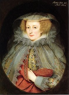 Marcus Gheeraerts the younger (Flemish artist, 1561-1635) Catherine Killigrew (Lady Jermyn)