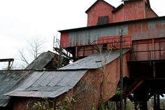 SWPA Rural Exploration: Shoaf Coke Works. Last of the beehive coke ovens. Shoaf, PA Fayette County