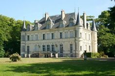 French Chateau for sale in 37 - Indre et Loire , Val de Loire France. This fabulous 19th century turreted Chateau north of Touraine stands in a dominant position surrounded on all sides by picturesque countryside only 40 minutes from Vendôme TGV station and 2 hr 15 minutes from Paris. With a living space of 850 m2 the property has a wealth of original architectural and decorative features...