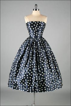 Vintage 1950s Dress  DAVID HART  Deadstock by mill street vintage, $345.00