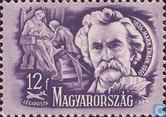 Postage Stamps - Hungary [HUN] - Mark Twain