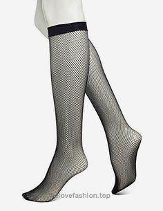 d52cb90a59a No Nonsense Women s Fishnet Knee High Trouser Sock