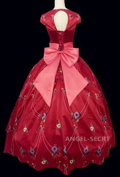 P310 elena of avalor costume movie cosplay princess party custom made dress gown - Thumbnail 3