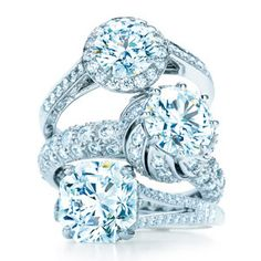 Tiffany's diamond engagement rings... just dropping a hint