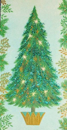 Back in the day, the Christmas cards one received were an essential party of decorating for the holidays - to brighten a mantle, a doorway, a mirror, etc. It was especially fun to get the ones with glitter!