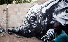 ROA @ Wide Open Walls (Gambie)