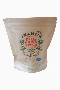 Jnantik Mayan Superfood Powder 8oz. This Mayan gluten-free power flour is such an amazing way to add a nutrient and taste boost to your favorite recipes and baked goods. The Maya Nut is harvested from the Maya Tree that grows in Mexico and South and Central America. This particular blend was ecologically wild harvested by women from an indigenous Mayan community in the mountains of Jalisco, Mexico and roasted and ground with love. The ancient Mayans survived on this super food in times of…
