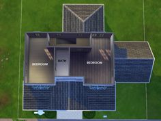 Found in TSR Category 'Sims 4 Residential Lots' Sims 4 House Plans, Sims 4 House Building, Sims 4 Houses Layout, House Layouts, Lotes The Sims 4, Sims 3, Sims 4 Challenges, Sims 4 House Design, Casas The Sims 4