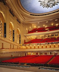 San Francisco War Memorial Opera House from stage. Some day my friend will be singing here while I watch. :)