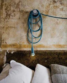 yarn covered reading light