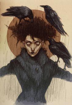 "CORVOPHILIA [noun] a love of crows or ravens.Etymology: from Latin corvus,""raven"" + Greek -philia, ""love"".[Lenka Simeckova]"