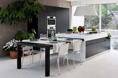 Nikron Monobloc Pull-out tables for kitchens, Elmar