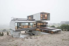 Брутальный Golf House от Лучано Крука