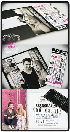 Rock'n Roll Wedding Decorations | Rock N Roll {Part II} Decor and Stationery