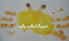 Krab schilderen mbv handen