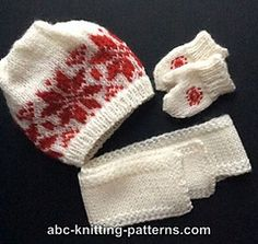 ABC Knitting Patterns - American Girl Doll Winter Fun Mittens and Scarves, Diy Abschnitt, American Girl Crochet, American Girl Crafts, American Doll Clothes, American Dolls, Knitting Dolls Clothes, Baby Hats Knitting, Free Knitting, Knit Hats, Knitting Charts