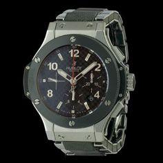 HUBLOT - Big Bang Chronographe, cresus montres de luxe d'occasion, http://www.cresus.fr/montres/montre-occasion-hublot-big_bang_chronographe,r2,p24458.html