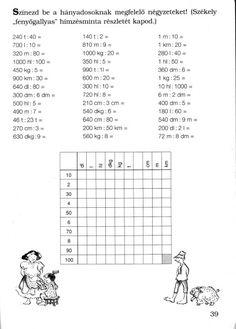 1000-es számkör Math Activities, Worksheets, Signs, School, Maya, December, Learning, Pictures, High School Graduation