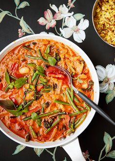 I Love Food, Good Food, Paneer Makhani, Asparagus Pea, Creamy Vegan Pasta, New Recipes, Healthy Recipes, Healthy Meals, Sauteed Kale