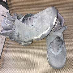 half off e0c34 2f992 Air Jordan Shoes   Jordan 8s Cool Greys   Color  Gray   Size  7