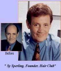 Hair Club for Men - I'm not only the president, I'm also a client.