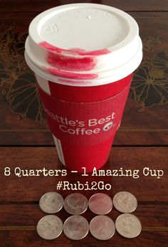 8 Quarters will get you a great cup of Seattle's Best coffee! #Rubi2Go #shop #cbias