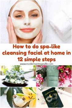 You skin needs a facial once a month. You can do it at home, it will be a more affordable version of an expensive salon procedure. Cleanse, exfoliate, peel your skin. Apply toner, moisturizer and overnight sleeping mask. Facial Skin Care, Natural Skin Care, How To Do Facial, Facial Procedure, Asian Skincare, At Home Face Mask, Homemade Skin Care, Skin Food, Your Skin
