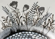 Queen Ann's Lace by Vojislav Radovanovic. #drawing  http://qoo.ly/emehe