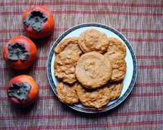 Persimmon Cookies...or Cake or Bread or Muffins   RECIPE maybe try 1/2 c. Maple syrup instead of brown sugar and 1 c. Coconut flour as flour sub?