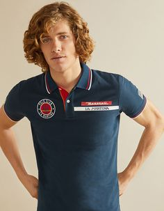 Polo Man | Men | Categories | La Martina Polo Rugby Shirt, Mens Polo T Shirts, Polo Tees, La Martina Polo, Polo Design, Man About Town, Cheap Clothes Online, Man Men, Mens Fashion