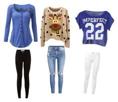 """""""Untitled #51"""" by brooklyen on Polyvore featuring !M?ERFECT, Frame Denim and H&M"""
