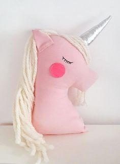Pink unicorn baby girl gift nursery decor girl bedroom