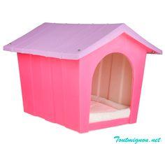 Casa para perro de madera para brindarle comodidad y confort a nuestros fieles amigos www.toutmignon.net