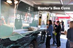 Fish Tacos at your wedding. For real. Busters-sea-cove-food-truck