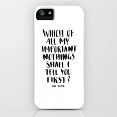 IMPORTANT NOTHINGS iPhone & iPod Case