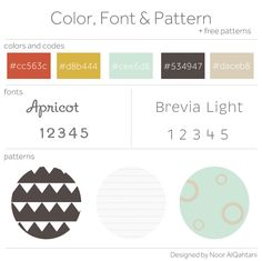 I have been busy searching here and there this week trying to come up with a pretty new color, font & pattern for this week. I just love this color choice and you may remember that I also used to create the IPhone wallpapers here...
