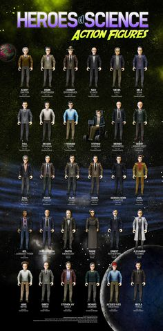 """""""Heroes of Science"""" action figures are light on """"action,"""" heavy on the """"heroes"""""""