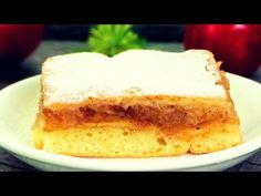 Una vez me comí la mitad del pastel. Una receta deliciosa de pastel de manzana. | Gustoso.TV - YouTube Super Torte, Romanian Food, No Cook Desserts, Apple Recipes, I Foods, Family Meals, Vanilla Cake, Cheesecake, Cooking Recipes