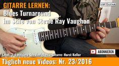 GITARRE LERNEN: Blues Turnaround im Stile von Stevie Ray Vaughan
