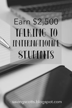 You could earn $2,500+ talking to international students. All from the comfort of your own home, only requires phone and internet connection. Earn $12 per Hour speaking to students learning English. Flexible hours perfect for college students.