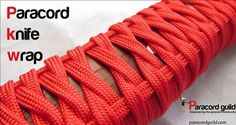 I finally found a knife wrap that I really like. Outside of the turks head knot variants, there are few techniques that I find appropriate for making paracord knife wraps. I was thrilled to find an image of a knife wrap that David Hopper made. It was a recreation of an old sword wrapping technique that Peter ....