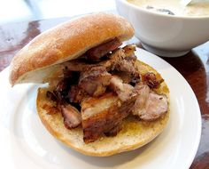 Porchetta from Porchetta & Co.  The foie gras of sandwiches...