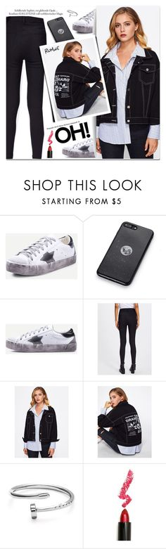 """BLACK Denim"" by yexyka ❤ liked on Polyvore featuring Lime Crime"