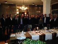 #MSLDigitalPA dinner with friends from MSLGROUP EMEA, @mslgermany & Publicis Consultants