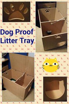 Unique Dog Proof Litter Box Furniture