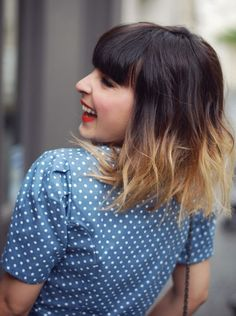 edgy ombre hair - Google Search