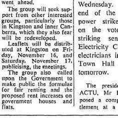 08 Nov 1973 - Group to publicise Kingston plans