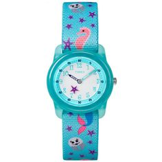 282a18dbc397 Timex Mermaid Time Teacher Kids Watch TW7C13700  Timex  Mermaid   TimexTimeTeacher  Timex Watch