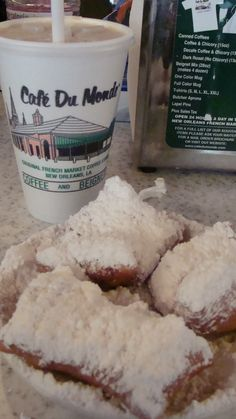 Eating Beignets Rule: If you're worried about the powdered sugar mess, you shouldn't eat beignets.